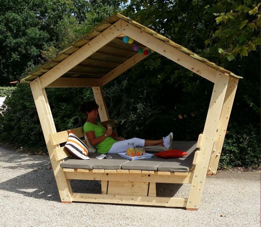 Table De Pique Nique Couverte En Bois Projets De Menuiserie
