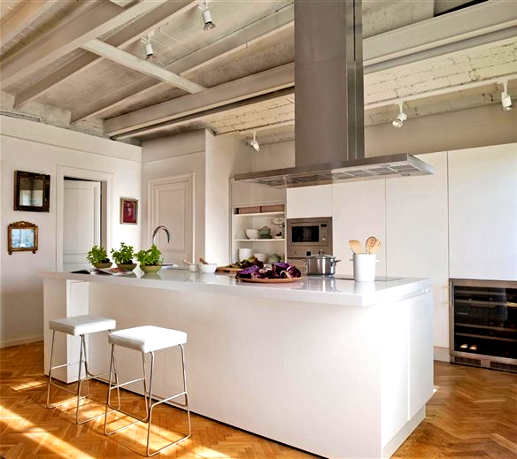 Chicdecó: cocinas gourmet en blanco blancas cocinas gourmet ...