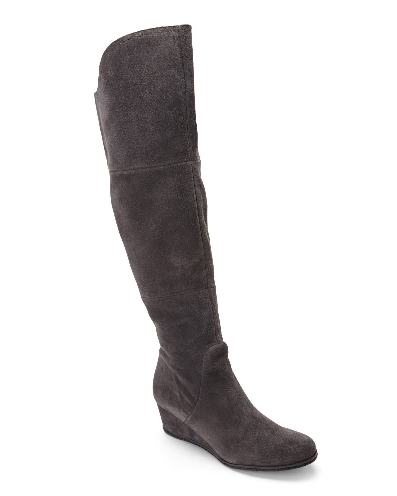 49efed0381d Buying these boots!! Over the knee suede wedge boots