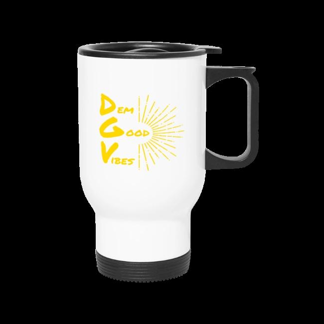 Dem Good Vibes Threads   Dem Good Vibes - Travel Mug