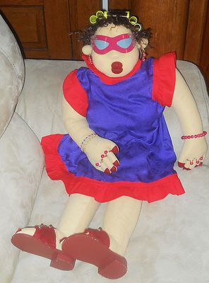 3' Tall Funny Old Granny Doll
