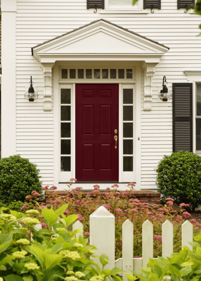 Ten Best Front Door Colours for your House   Maria Killam  i want to matchTen Best Front Door Colours for your House   Front doors  Doors  . Painting New Steel Entry Doors. Home Design Ideas