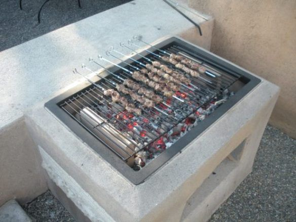 De Bricolaje Morgan Abierto De La Parrilla Foto Tutorial  Plan De Cool Outdoor Kitchen Charcoal Grill Design Inspiration