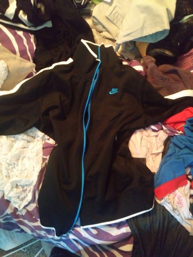 cd1b7016e Nike Sportswear Bonded Blazer Rain Jacket Black Waterproof 836411-010 Size  M XL #fashion #clothing #shoes #accessories #mensclothing #coatsjackets  (ebay ...