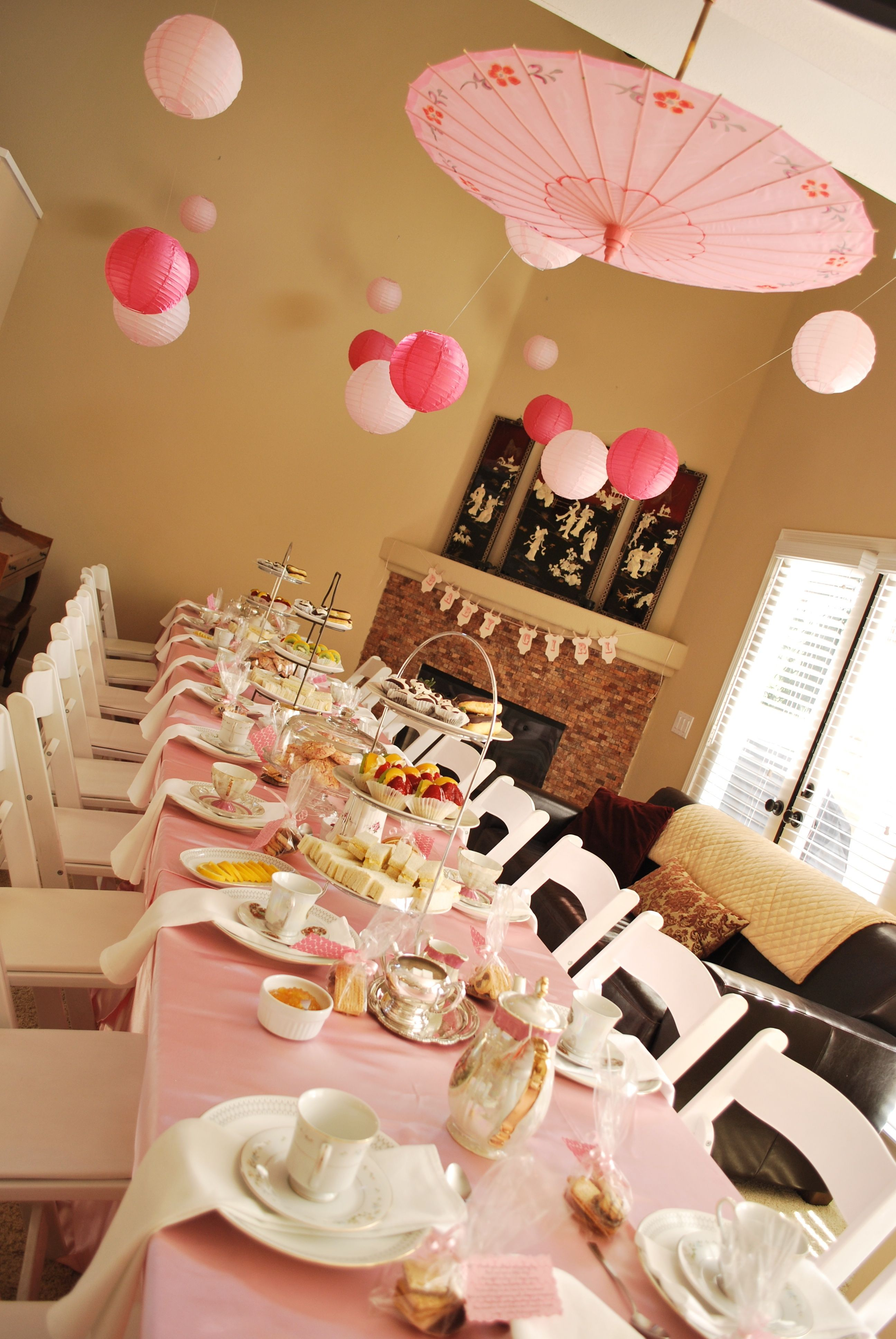 Asian baby shower decorations