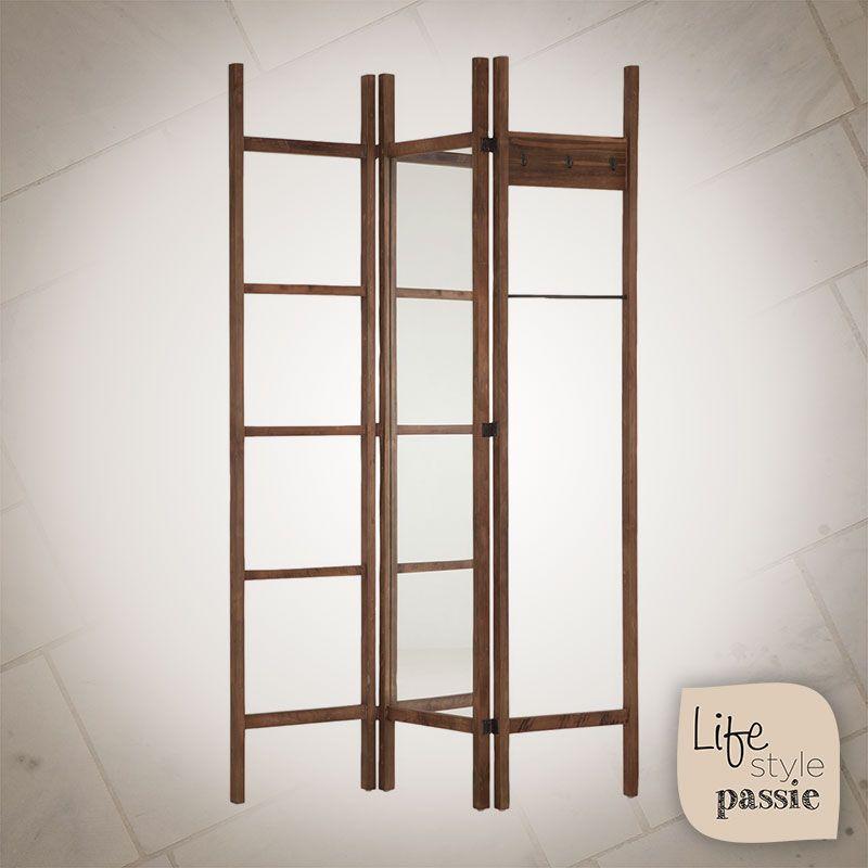 Kledingrek Hout Decoratief Landelijk Wooninrichting Clothesrack Wood Decorative Country Lifestyle Ladder Decor Decor Furniture