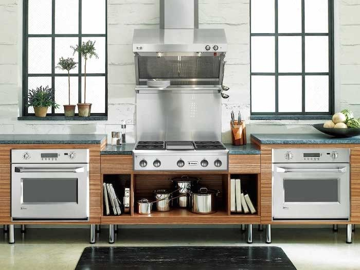 GE Monogram Cooktop And Wall Ovens, Remodelista