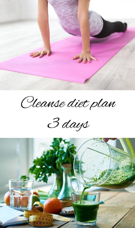Clean diet plan 3 days. Detox diet makes you more