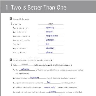الإنجليزي ثالث ثانوي النظام الفصلي الفصل الدراسي الأول Good Things