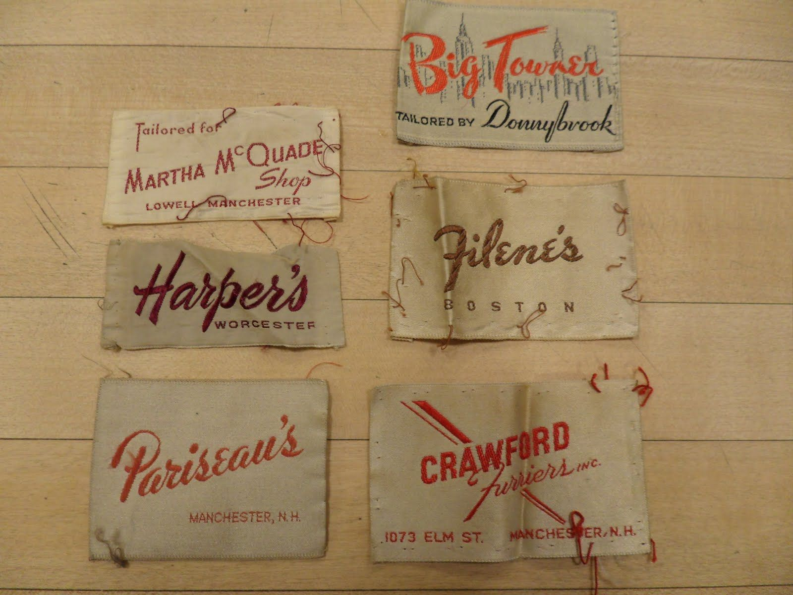 Craftsmanship And Care Labels Clothing Labels Vintage Outfits Clothing Tags