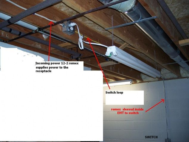 Adding Wall Outlets Unfinished Basement Wall Outlets Unfinished Basement Basement Ceiling