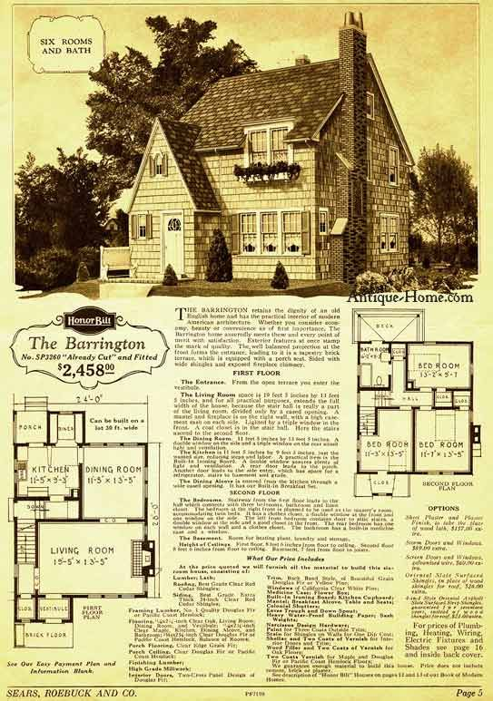 Old English Cottage Tudor House Plans Historic Floor Plans In 2019