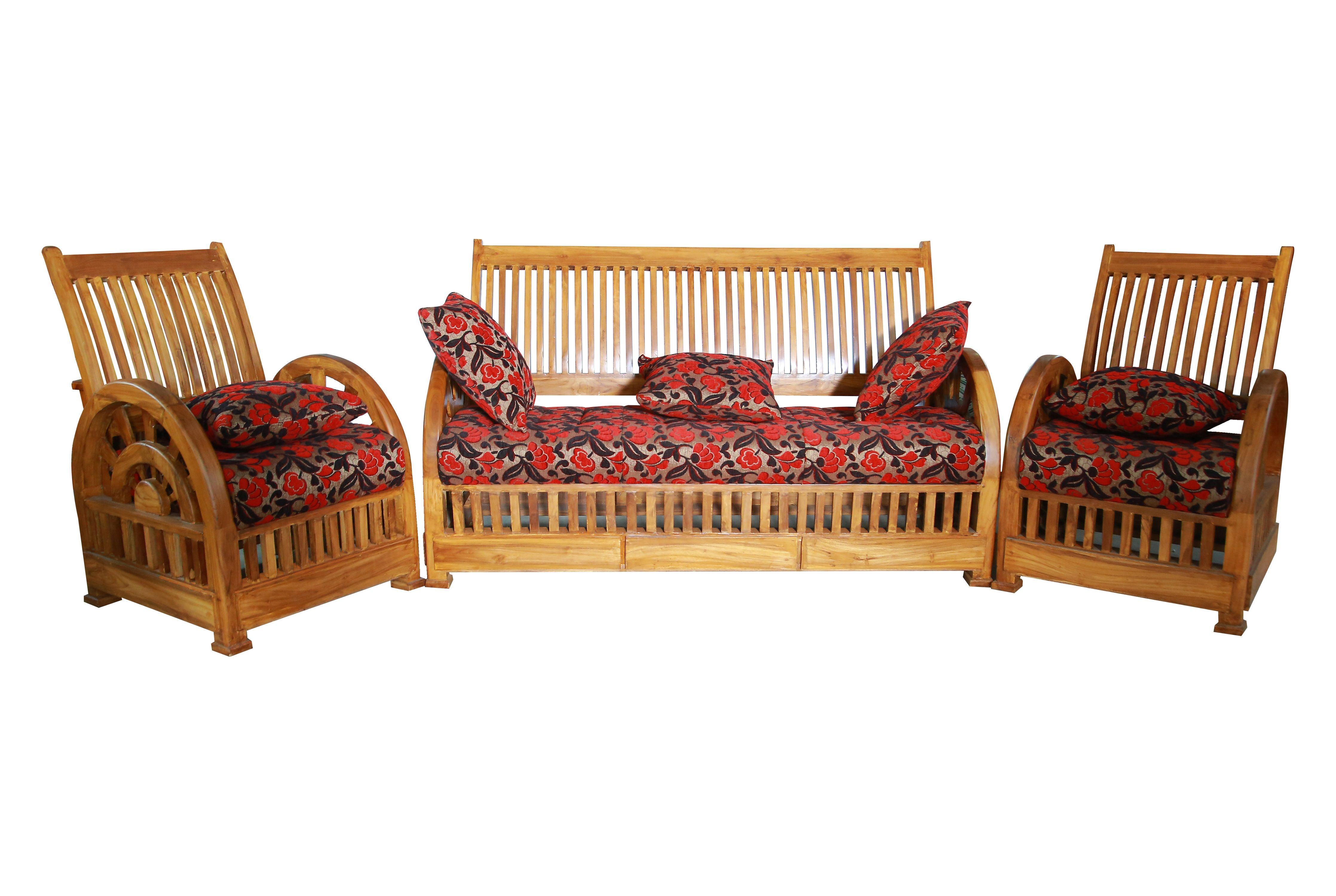 Verona Teak Wood Sofa Set 3 1 1 Seater Teak Wood Furniture Rosewood Furniture Wood Sofa
