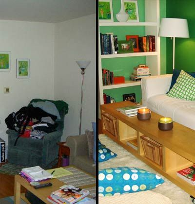 Messy Living Room Makeovers