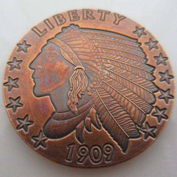 Prospector Series 1oz .999 copper round Gunslinger