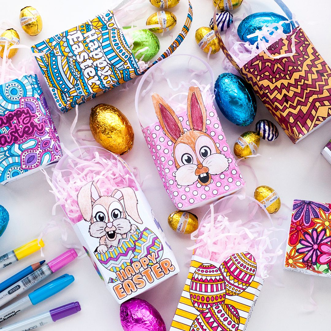 How to make a mini easter gift bag easter template and tutorials how to make a mini easter gift bag negle Image collections