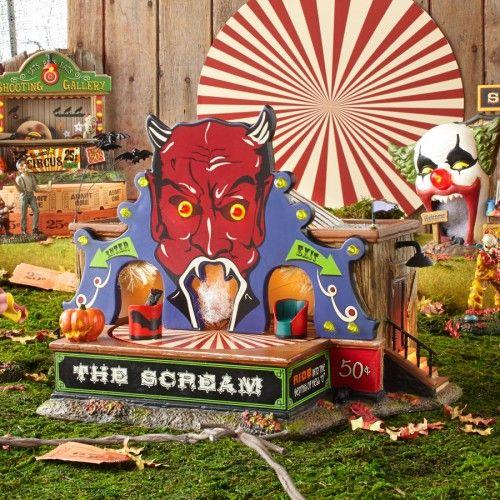 Village Halloween 2020 Photos Rat Snow Village Halloween The Scream | Department 56 Villages, Free