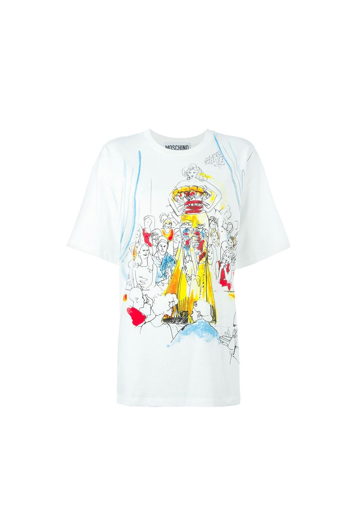 {Moschino / 01 clothing / 04 knitwear / 01 t-shirt} Fashion Show T-Shirt