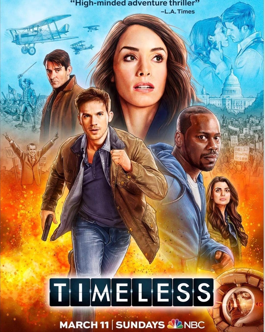 Timeless Temporada 2 Latino/Castellano 720p