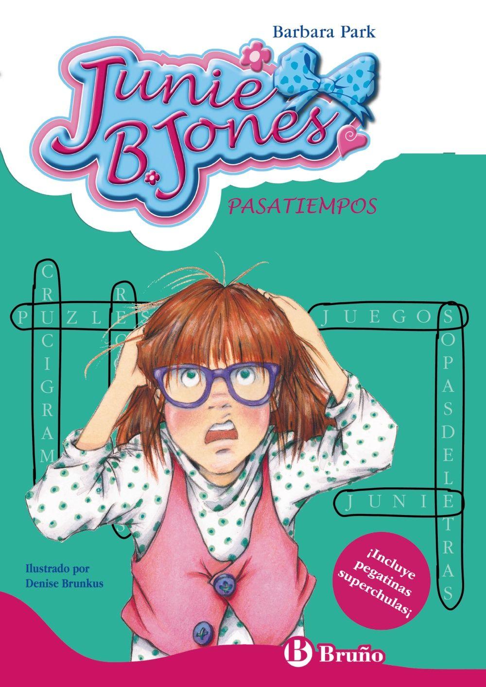 Junie B Jones Pasatiempos Barbara Park Juegos De Unir Sopa De Letras Laberintos