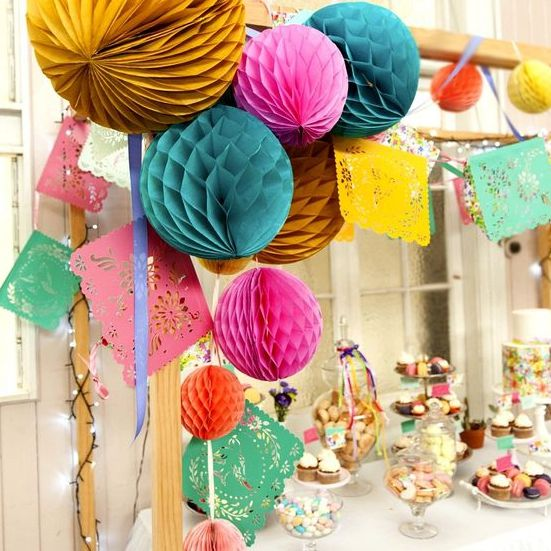 Honeycomb Balls Decoration 20Cm Tissue Paper Honeycomb Balls Decorations Honeycomb Paper