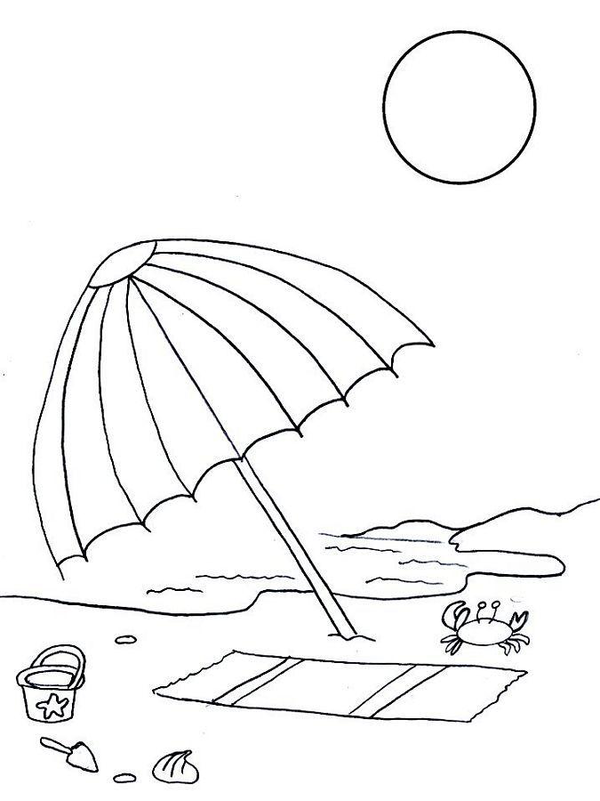 Summer Coloring Pages | Summer Coloring Pages | Digi\'s 5 | Pinterest ...