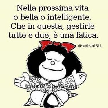 Evviva La Modestia Mafalda Autoironia By Robertina Sofia
