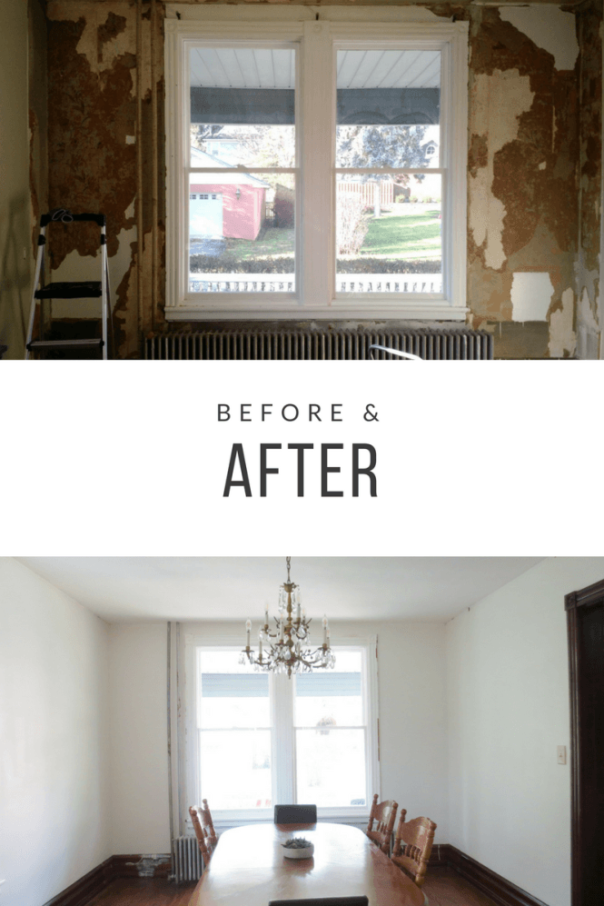 The Best Way To Remove Wallpaper Why Wallpaper Is One Of The Deadly Sins Living In A Fixer Upper Wood Interior Walls Removable Wallpaper Stripped Wallpaper