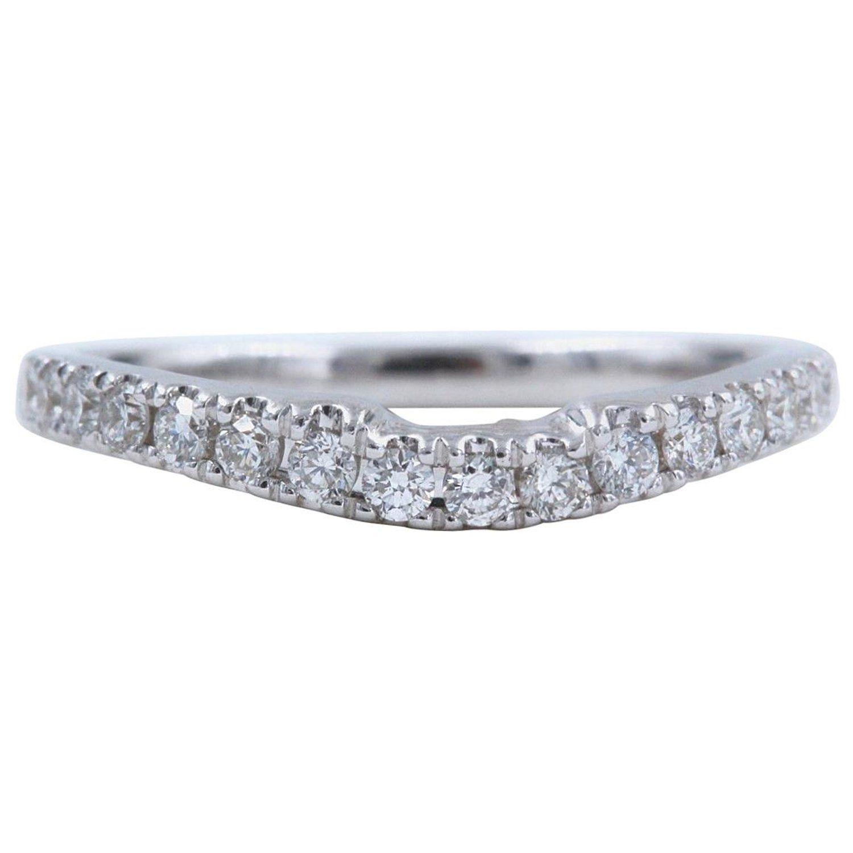 Neil Lane Wedding Band 1 3 Carat Diamonds And 14 Karat White Gold Neil Lane Wedding Bands 3 Carat Diamond Diamond Wedding Bands