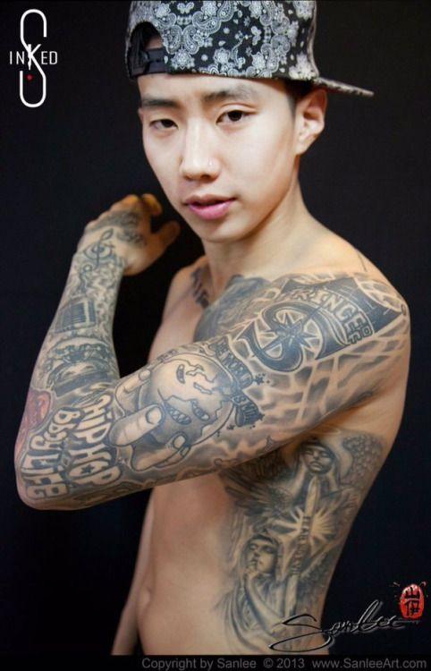 Jay Park Tattoos 2013