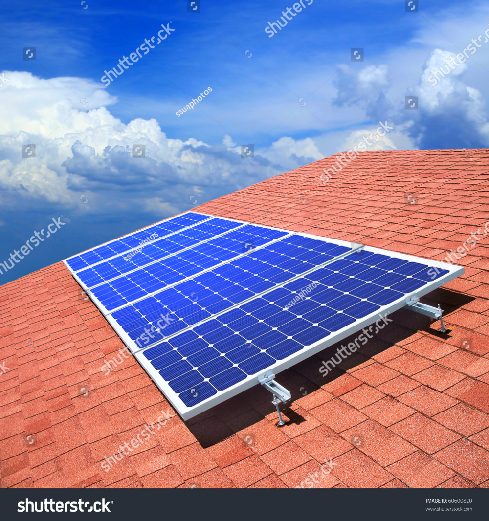 Download Solar Panels On The Roof Royalty Free Images Stock Photography Serdyuk Ssuaphoto Alternative Battery Solar Panels Roof Solar Panels Solar