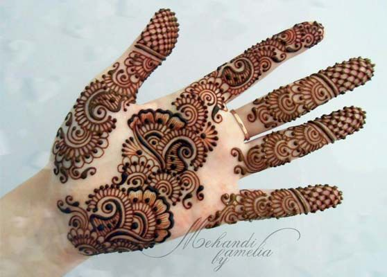 Dulhan Mehndi Designs For Full Hands 2014 : Most stylish mehndi design image by amelia