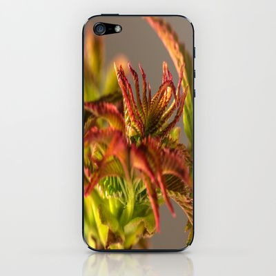 Young sheets in the spring iPhone & iPod Skin by Karl-Heinz Lüpke - $15.00