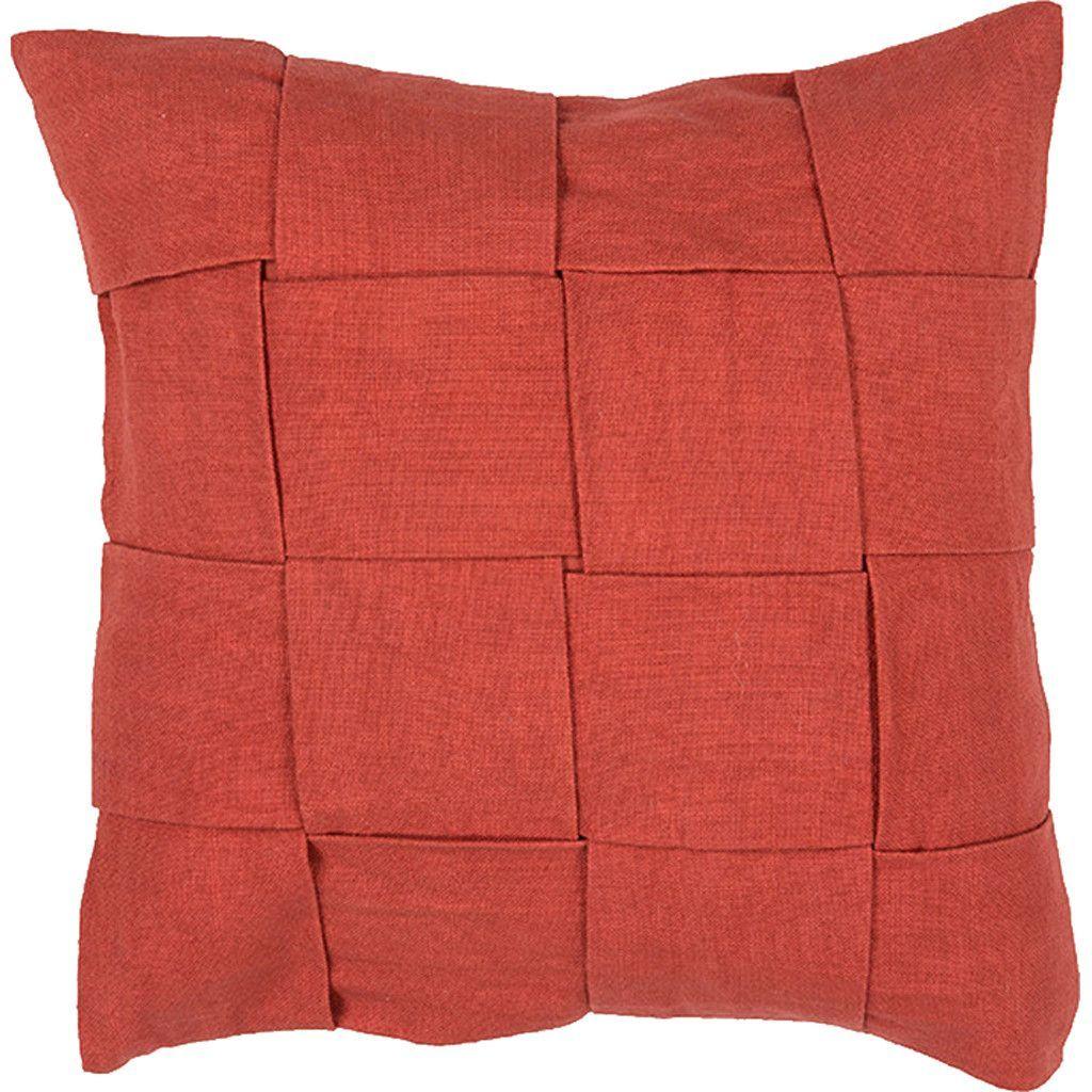 Tabby Tabbysolid01 Rust Pillow