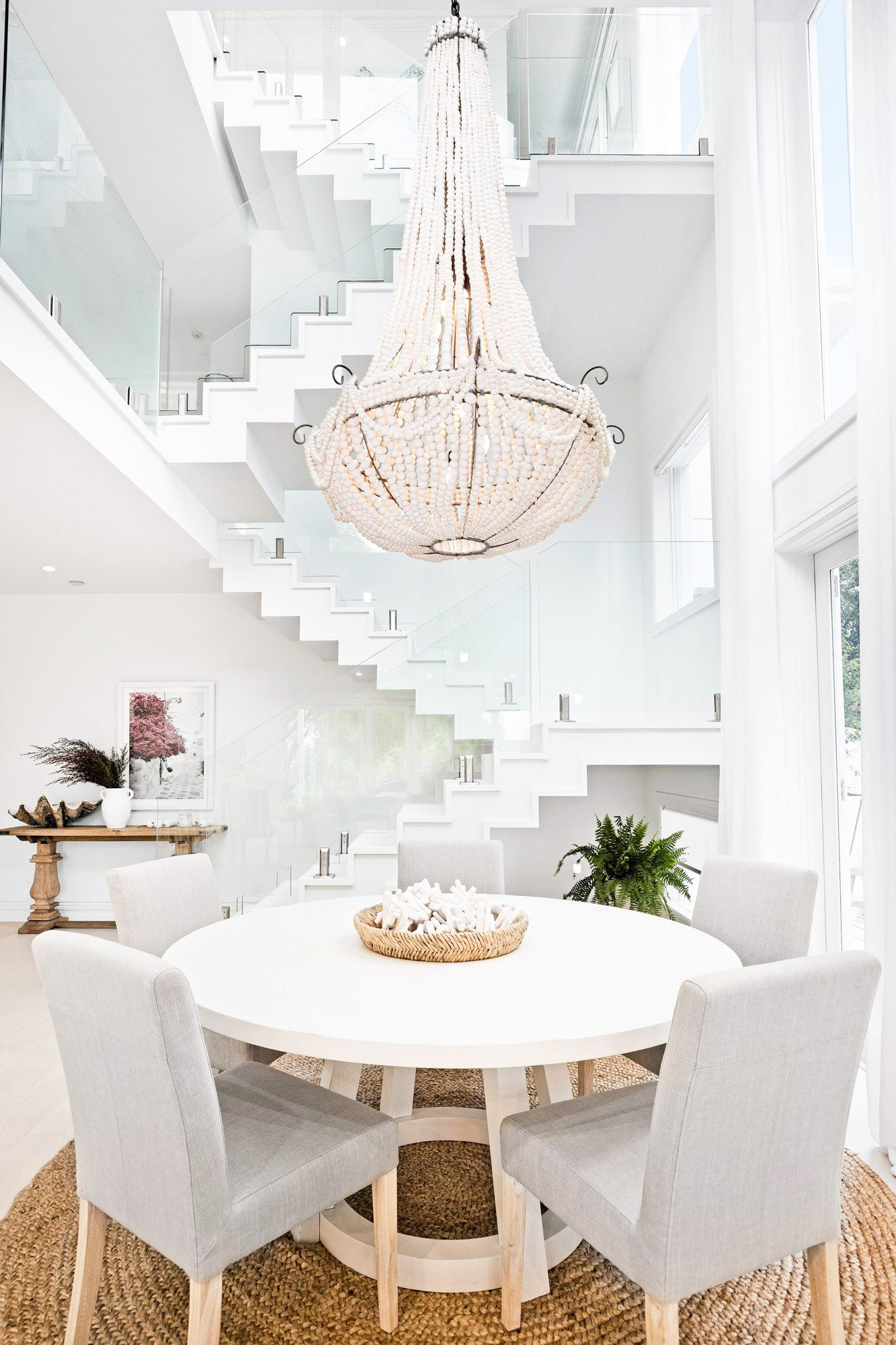 Episode Six Stairs Void Dining Laundry Guest B Room Three Birds Renovations Three Birds Renovations Home Decor Staircase Design