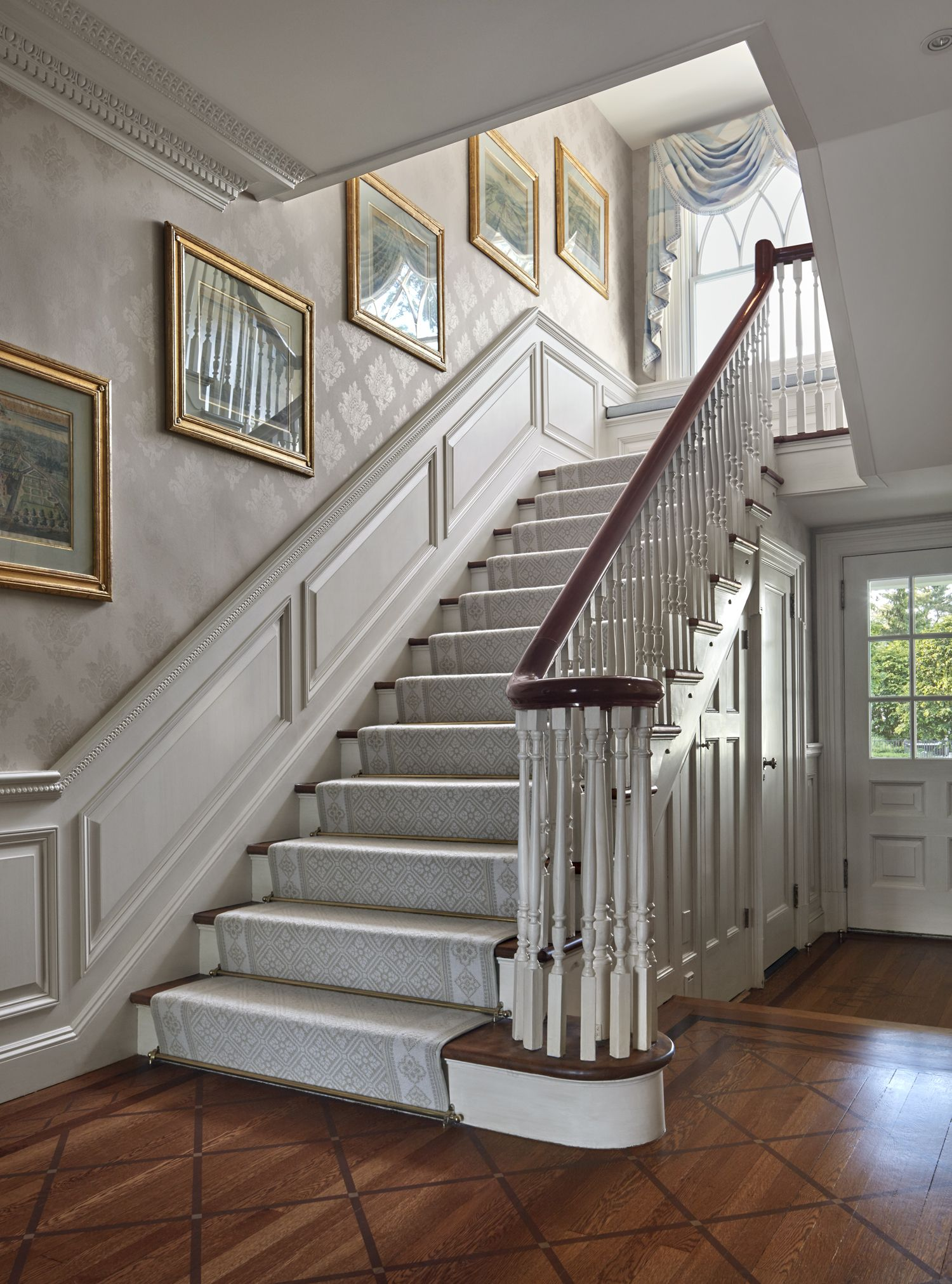 Main House 05 Foyer Jpg 1500 2023 Stairs Design Staircase Design Staircase Makeover