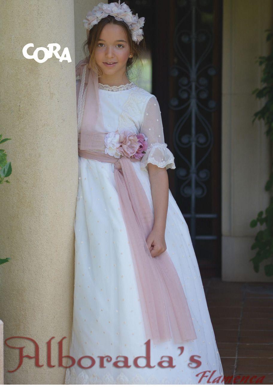Colección de vestidos de comunión 2018 - Niña - Cora  609e18d117d9
