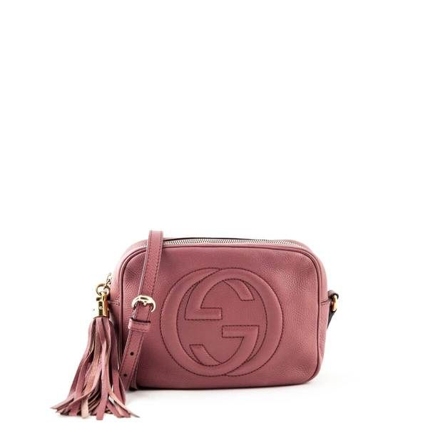 Gucci Dusty Rose Soho Disco LOVE that BAG Preowned