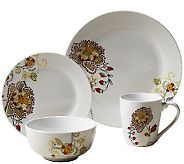 Tabletops Gallery 16 Piece Dinnerware Set   Avalon Review
