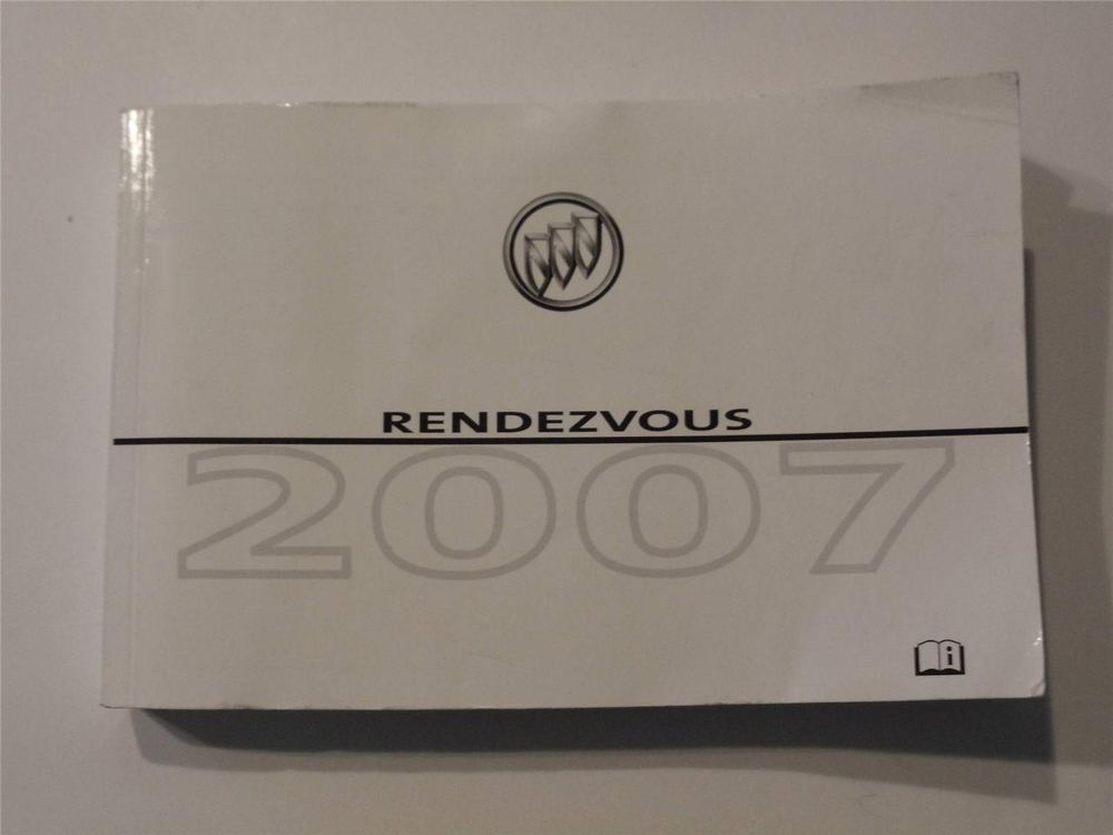 2007 buick rendezvous owners manual book owners manuals pinterest rh pinterest com 2009 Buick Rendezvous 2007 Rendezvous CXL