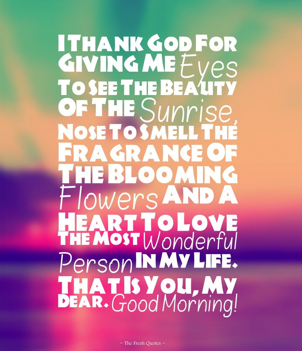 Cute Romantic Good Morning Wishes Images Sweet Pinterest