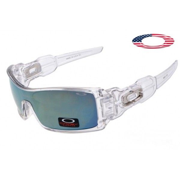 8e0207b8d4 Cheap oakleys free shipping oil rig sunglasses clear   ice iridium ...