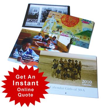 Custom Fundraising Calendars For Charity And Nonprofit Fundraiser Events