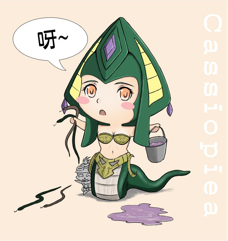 1443 - cassiopeia chibi teemo.jpg (800×844) | Anime ...  1443 - cassiope...
