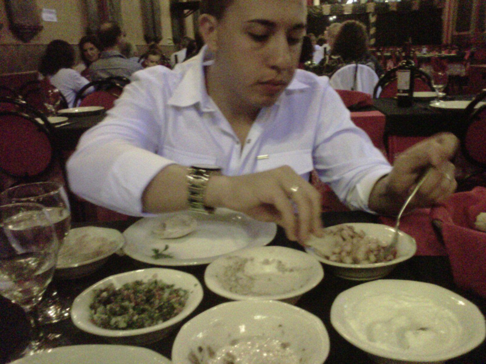 Fairuz, comida arabe