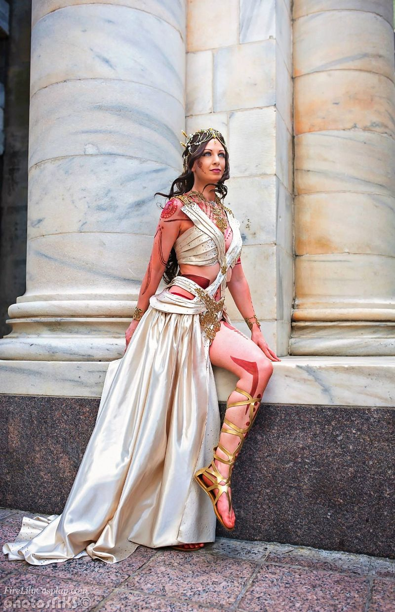 Dejah Thoris Zodanga Wedding Dress By Firelilycosplay Deviantart Com On Deviantart Dresses Fantasy Fashion Cosplay