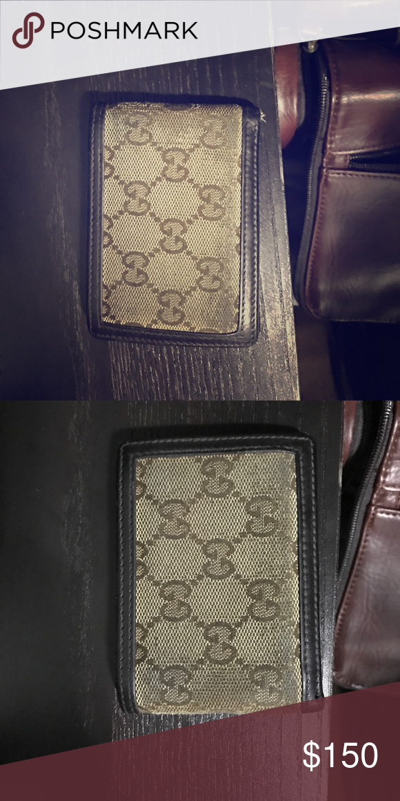 6f5398ace5e2 Gucci men's wallet used Used men's gucci 100% authentic Still has slot of  use left Gucci Accessories