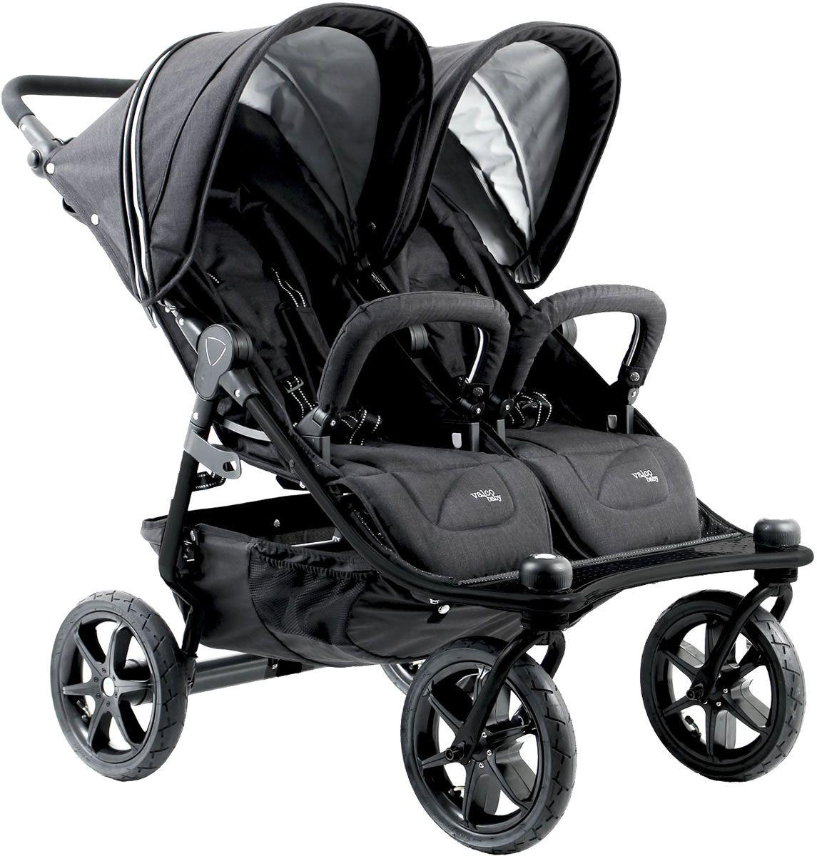 Valco Tri Mode Duo X Double Stroller Night Newborn
