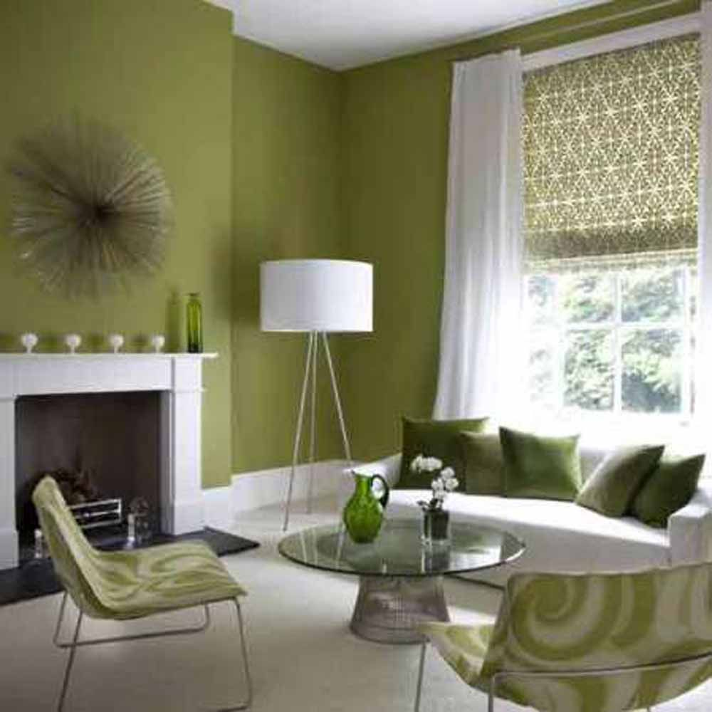 Sharp Spacious Living Room Chair Green   Trend Decoration   Decore ...