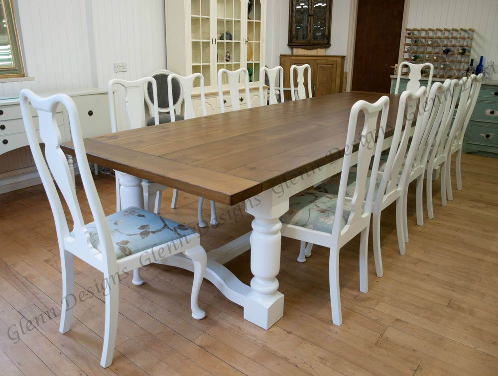 8 10 12 14 16 20 Seater 5 Leg Triple Dining Table Infinity